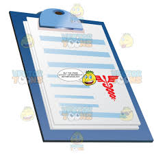 Patient Chart Clipboard Papers Or Chart On Clipboard
