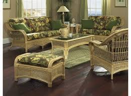Image Dark Natural Rattan Furniture Tropical Breeze Wicker Paradise Rattan Furniture Sets Sunroom Wicker Furniture Sets