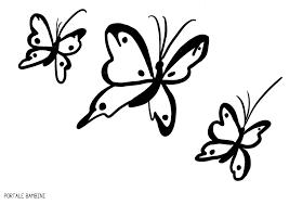 Disegni Di Farfalle Da Stampare E Colorare Gratis Portale Bambini