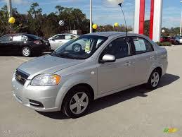 2008 Cosmic Silver Metallic Chevrolet Aveo LS Sedan #22596497 ...