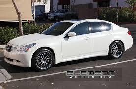 infiniti g37 white with black rims. vertini riviera blackmachined wheels 08 infiniti g35 sedan w specs g37 white with black rims k