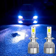 Blue Led Lights For Car Details About 9004 Led Car Headlight Bulbs Ice Blue Hi Lo Beam 8000k Hight Power Front Light