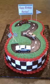 February Birthday Cakes Simply Sweet Matchbox Cars 3 Racetrack Birthday Cake