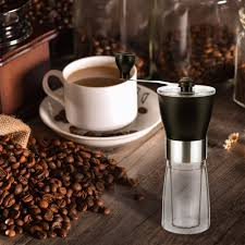 The manual burr coffee grinder is the nonelectric machine that includes the hand crank. Us 17 99 Manual Coffee Grinder Coffee Bean Grinder Adjustable Hand Grinder Ceramic Conical Burr Mill Mini Portable Home Kitchen Travel Coffee Bean Grinder Coffee Mill For Precision Brewing Moer Sky M Moersky Net