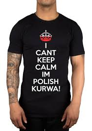 Us 11 88 15 Off I Cant Keep Calm Im Polish Kurwa Poland T Shirt Lewandowski Polska Gift Idea Cool Casual Pride T Shirt Men Unisex New Fashion In