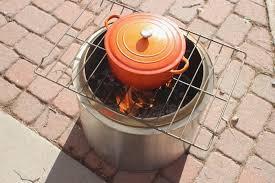 pretty solo stove bonfire cooking
