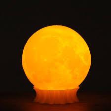 tooarts 3d printed moon lamp decor lighting gift us plug ac100 240v 50 60hz