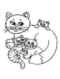 Fat Cat Coloring Pages For Kids Printablekidsfreecoloringnet Free