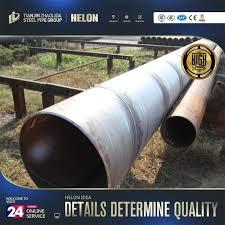 Galvanized Steel Welding Weight Chart Tube Gas Welded Spiral