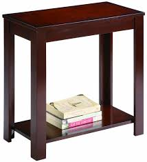 Living Room Table And Chairs Amazoncom Crown Mark Pierce Chair Side Table Espresso Kitchen