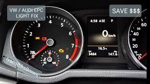 how to fix epc light on volkswagen vw