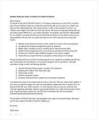School Letter Templates 8 Free Sample Example Format Download