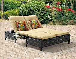 outdoor double chaise lounge cair 2 person pool patio daybed sofa with cushions
