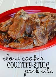 CountryStyle Barbecue Pork Rib Recipe  Barbecue Pork Ribs Pork Best Slow Cooker Country Style Ribs Recipe