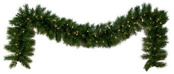 Garland With Lights Lowes Home Decor Miraculous Pre Lit Christmas Garland With