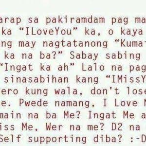 love notes for girlfriend tagalog
