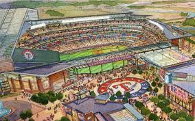 Rangers New Ballpark Design Globe Life Field Pictures Information And More Of The
