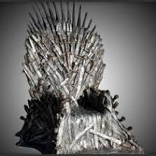 life size iron throne 12 diy iron thrones for the season 5 game of thrones premiere hbo