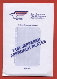 Jeppesen Chart Protectors American Aviator Jeppesen Approach Plate Protectors