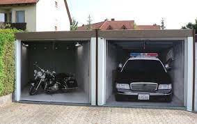 garage door muralsCool  Creative Garage Doors  Abode
