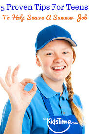 proven tips for teens to help secure a summer job 5 keep busy
