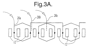 patent ep1225676a1 stator winding pattern for reduced magnetic figure 00000001