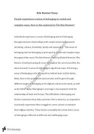 kite runner essay year hsc english advanced thinkswap document screenshots kite runner essay