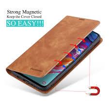 <b>Luxury Wallet Flip</b> Leather Case for Samsung Galaxy A51 A71 A81 ...