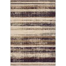 Striped area rug Lynx Striped Area Rug Home Depot Artistic Weavers Eden Eggplant Ft Ft Striped Area Rug