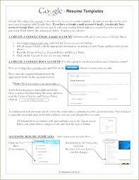 Resume Google Docs Free Online Google Docs Resume Template Document ...