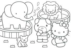 Printable Coloring Pages Zoo Animals Coloring Pages Animals Animal