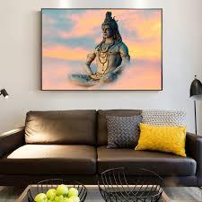hindu wall art canvas shiva hindu gods posters and prints religion wall art decorative pictures for on religious wall art canvas with hindu wall art canvas shiva hindu gods posters and prints religion