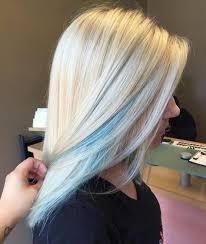 Subtle Blue Highlights 35 Fresh New Light Blue Hair Color Ideas For Trendsetters