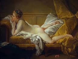 elite prostitutes in th century paris and the detectives who  resting girl probably a portrait of marie louise o murphy mistress to