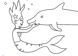 Print out these wonderful dolphin coloring pages and have fun while coloring them. Dolphin Coloring Pages Printables Education Com
