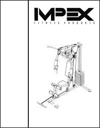 Impex Home Gym Md 2109 User Guide Manualsonline Com