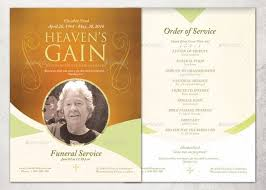 Funeral Service Templates Word Interesting 48 Free Free Funeral Program Template Word Excel Formats