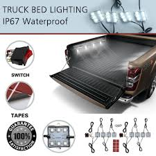 How To Install Truck Bed Lights With Switch Led Truck Tuff Series Bed Lights Install F150 Light Tailgate
