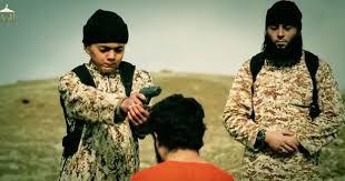 Image result for داعش  کودکان را تبدیل به جلاد کرده است