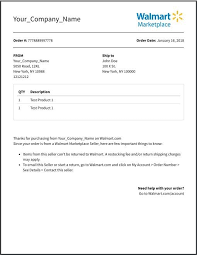 Free Printable Packing Slip Template 541