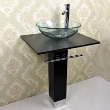 glass bathroom faucets. Let\u0027s Have A Better Bathroom With Sink Bowls Vanity : Good Looking Image Of Glass Faucets