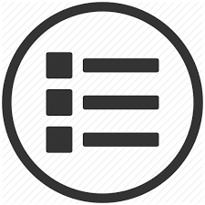 Apps Symbol Apps List Menu Options Icon