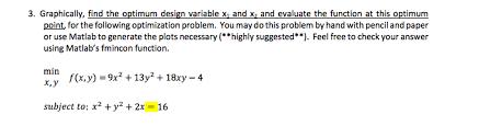 What Is Optimum Design Graphically Find The Optimum Design Variable X_1