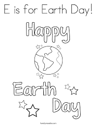 Small Picture Earth Day Coloring Pages Twisty Noodle