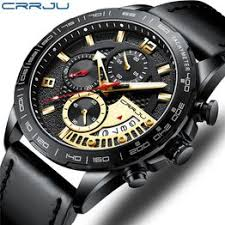 Crrju quartz men's watch multifunctional sports fashion ... - Vova