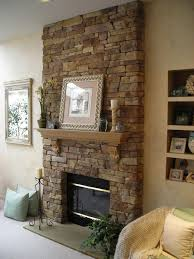 faux fireplace stone veneer more
