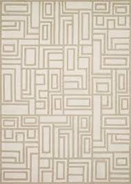 now house by jonathan adler blocks collection area rug 3 6 x 5 6 ivory and beige