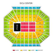 Dcu Seating Chart Concert Dcu Center 2019 Seating Chart