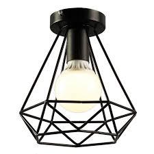 2019 vintage industrial rustic flush mount ceiling light metal pendant lighting lamp fixture for hallway drop from biaiju 62 07 dhgate com