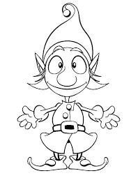 Elf On The Shelf Coloring Page Grey Coloring Pages Grey Coloring